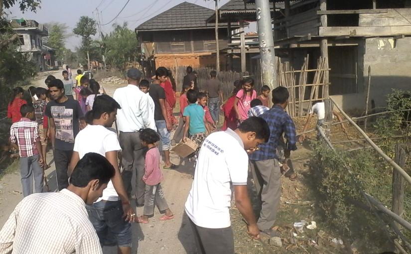 Sanitation program in community